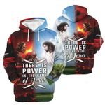 3D All-over Printed - There is power in the name of Jesus