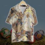 3D Hawaiian Shirt - Easter Jesus