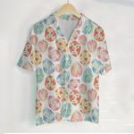 3D Hawaiian Shirt - Easter Eggs Pattern