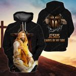 3D All-over Printed - Jesus always by my side Ver03