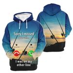 3D All-over Printed - Fishing lovers