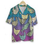 3D Hawaiian Shirt Colorful Animals - Chicken