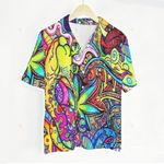 3D Hawaiian Shirt Colorful - Hippie