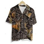 3D Hawaiian Shirt Colorful Animals - Deer