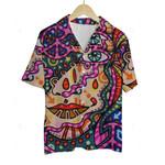 3D Hawaiian Shirt Colorful Hippies
