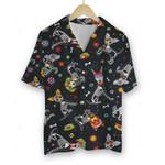 3D Hawaiian Shirt Colorful Animals