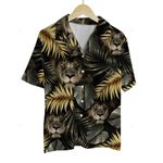 3D Hawaiian Shirt Tropical Animals - Lion