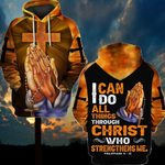3D All-over Printed Jesus Christ - I Can Do All Things Through Christ