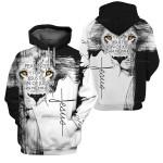 3D All-over Printed Jesus Christ - Lion Of Judah