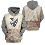 3D All-over Printed - Knight Templar