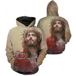 3D All-over Printed Jesus Christ - Jesus Saved My Life