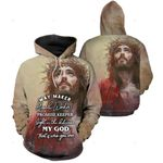3D All-over Printed Jesus Christ - Way Maker Miracle Worker