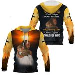 3D All-over Printed Jesus Christ - I am A Child Of God (Yellow)