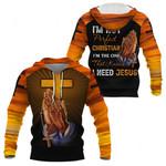 3D All-over Printed Jesus Christ - I Need Jesus