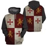 3D All-over Printed Knight Templar