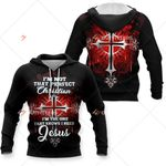 3D All-over Printed Knight Templar - I'm The One That Knows I Need Jesus