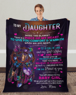Special gift for daughter | To my daughter Blanket
