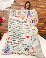 To My Daughter from Mom Blanket