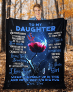 To My Daughter From Dad – Dragonfly Blanket