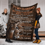 Most meaningful Throw Blanket for Husband, Birthday Gift for Husband, Anniversary present for husband