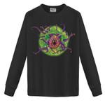Rick and Morty vs D&D Beholder Portal Space 2D Sweatshirt