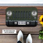 Jeep Wrangler Sarge Green Doormat