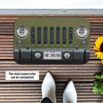 Jeep Wrangler Commando Doormat