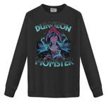 Dungeon Momster, Dungeons and Dragons, dnd tabletop dice game rpg funny gift, dnd advanced 5e online fan lover, critical role shop 2D Sweatshirt
