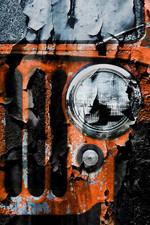 Nacho Orange Jeep Wrangler Poster Print Wall Art Poster