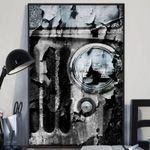 Billet Silver Metallic Jeep Wrangler Poster Print Wall Art Poster