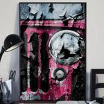 Pink Jeep Wrangler, Jeep Wrangler Poster Print Wall Art Poster