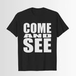 Come and see – bible 2D T-Shirt