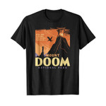 Hike and explore the scenic trails of mount doom national park – the lord of the rings 2D T-Shirt