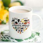I'm a friends-aholic, friends TV show, friends inspired Ceramic Mug
