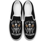 Let's get halloweird Slip-on Shoes