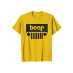 Beer Yellow Parody Funny Logo 2D T-Shirt