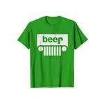 Beer Green Parody Funny Logo 2D T-Shirt