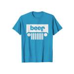 Beer Blue Parody Funny Logo 2D T-Shirt