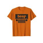 Beer Nacho Parody Funny Logo 2D T-Shirt