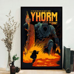 YHORM THE GIANT Video Game Poster, Video Game Art, Prints, Gamer Room Decor, Gaming Prints, Wall Art Poster