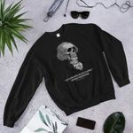 Stay strapped or get clapped – George Washington 2D Sweatshirt