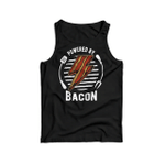 Powered by bacon 2D Unisex Tank Top