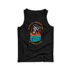 My life is a dumpster fire but it's all cool 2D Unisex Tank Top