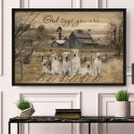 Labrador – God says you are Poster