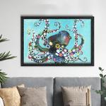 Vibrant Octopus Poster