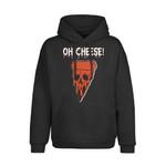 Oh Cheese, Necromancy Halloween Custom Shirt, Skeleton Fall Season Tee, Happy Hallowthanksmas 2D Hoodie