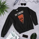 Oh Cheese, Necromancy Halloween Custom Shirt, Skeleton Fall Season Tee, Happy Hallowthanksmas 2D Sweatshirt