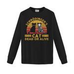 Schrödinger's Cat Dead or Alive 2D Sweatshirt