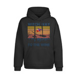 Witch Way To The Wine 2D Hoodie