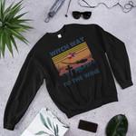Witch Way To The Wine 2D Sweatshirt
